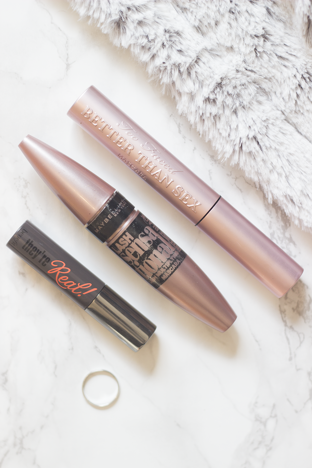 Top Three Mascaras Benefit Maybelline Too Faced