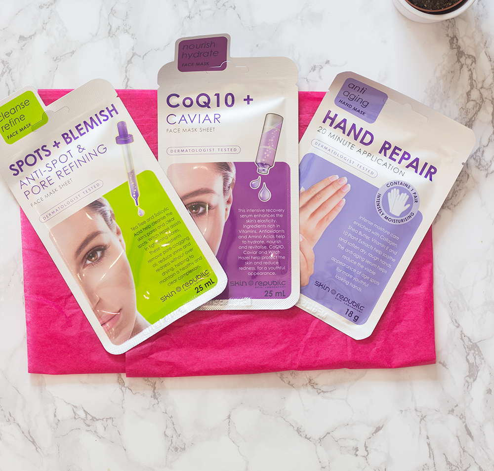 The Skin Republic Masks
