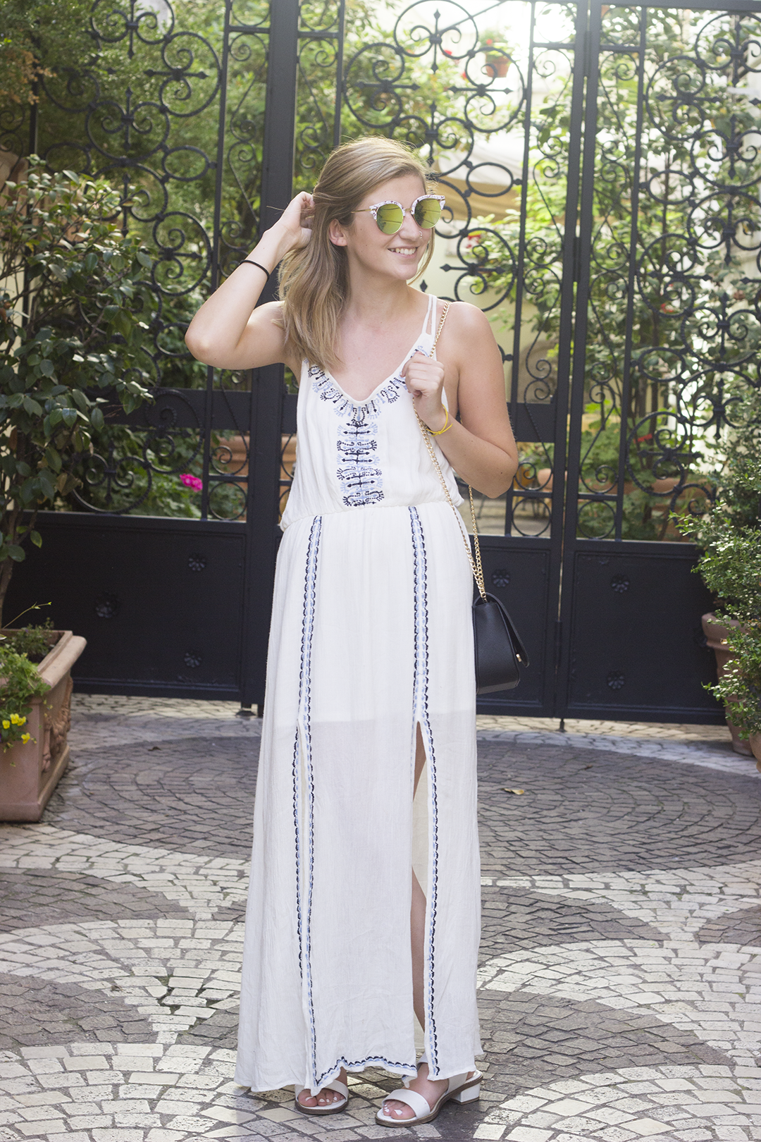 Embroidery Trend Boohoo Maxi