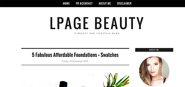 Blogs I've Bookmarked LPage Beauty