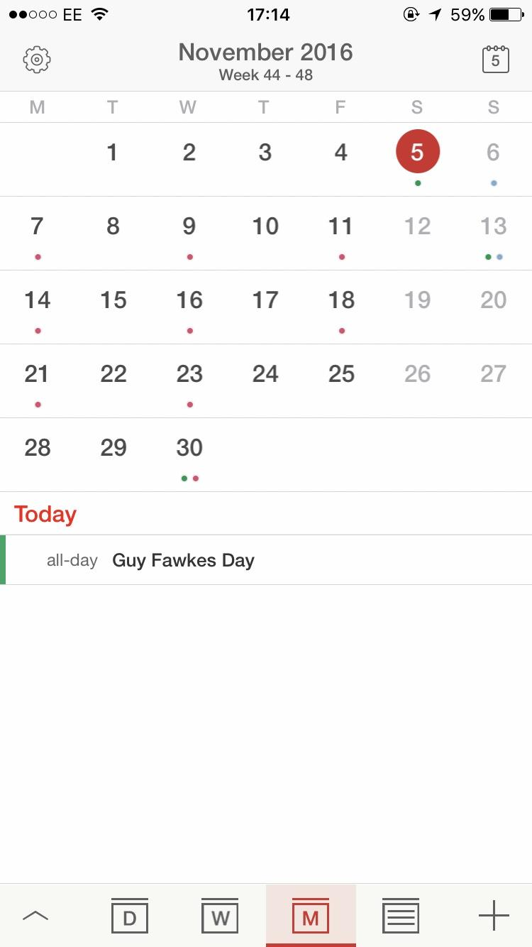 Apps That All Bloggers Need Tiny Calendar