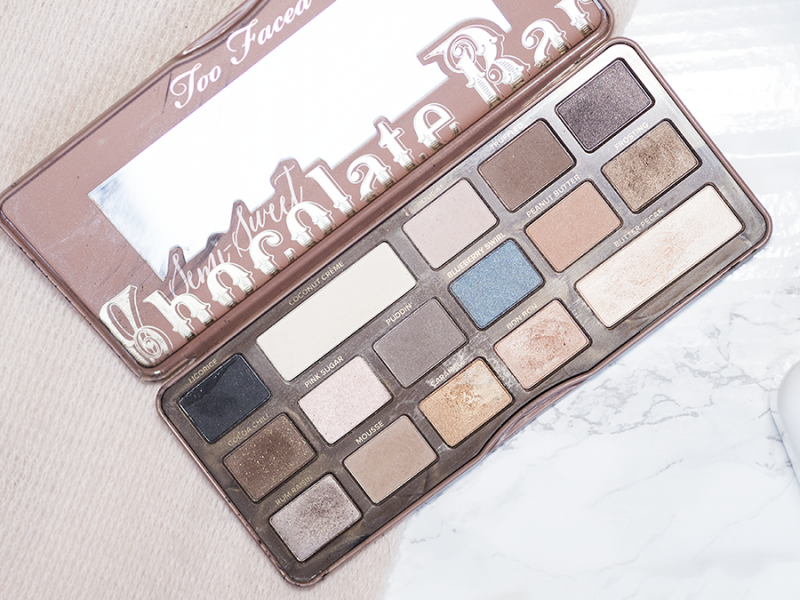 Best of Beauty Too Faced Semi-Sweet Chocolate Bar Palette
