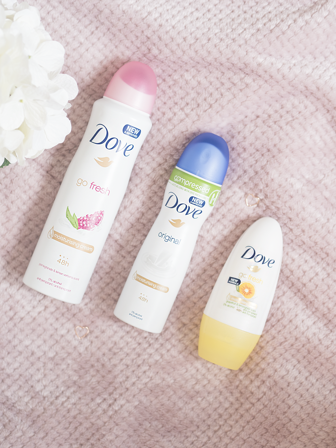 Underarm Skincare with Dove