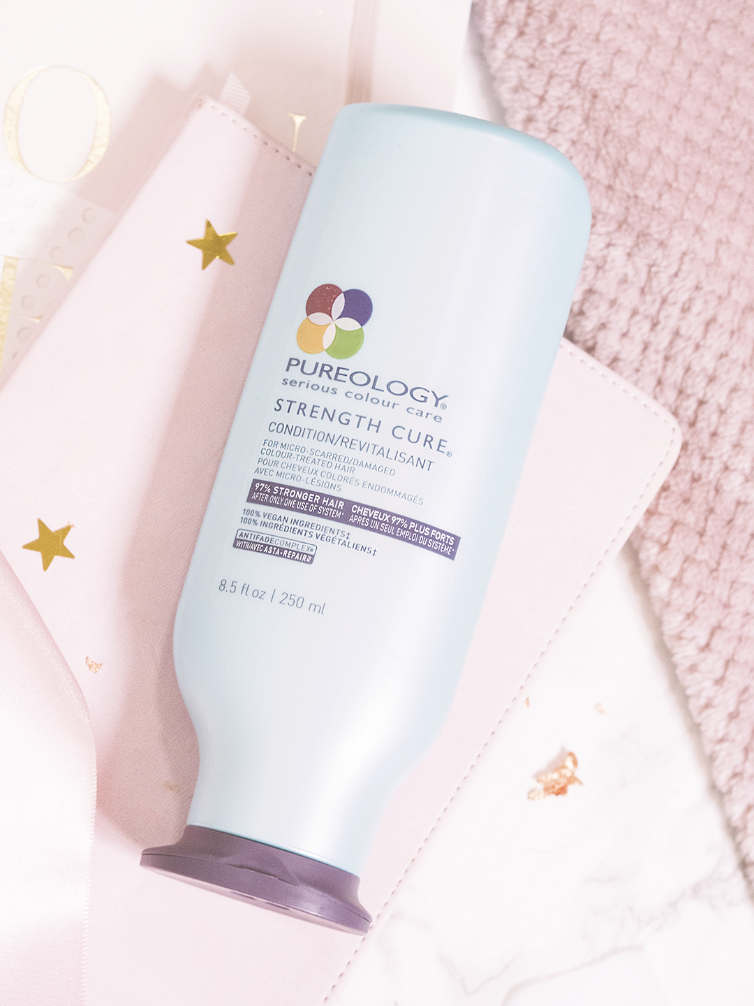 Haircare that Saved My Blonde Hair Pureology Strength Cure
