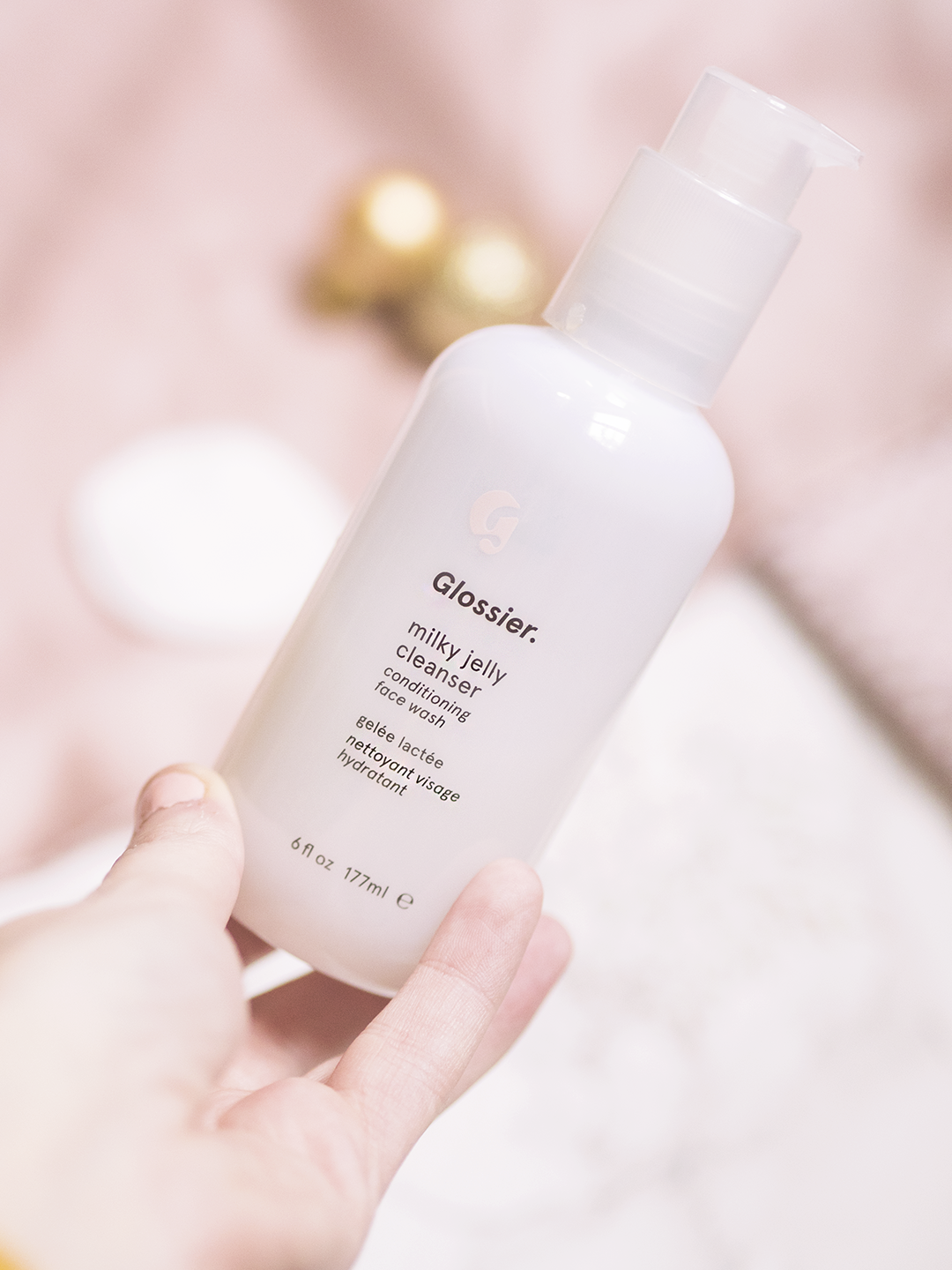 The Winter Skincare Glossier Milky Jelly Cleanser