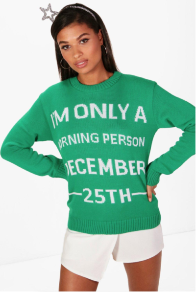 Charity Emma December 25th Christmas Jumper