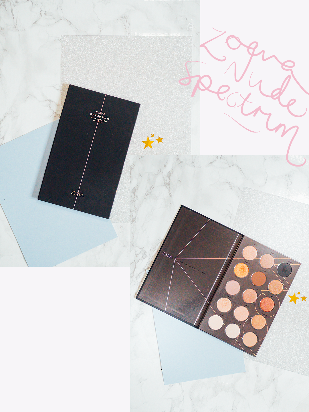 New In The Collection: Palettes Zoeva Nude Spectrum