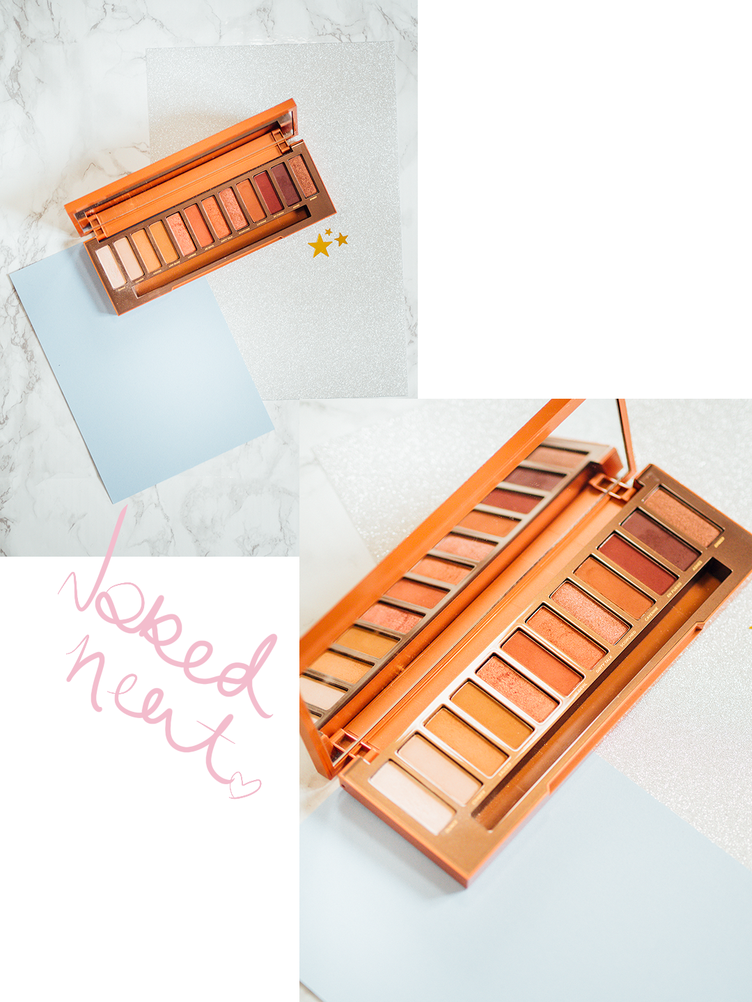 New In The Collection: Palettes Naked Heat