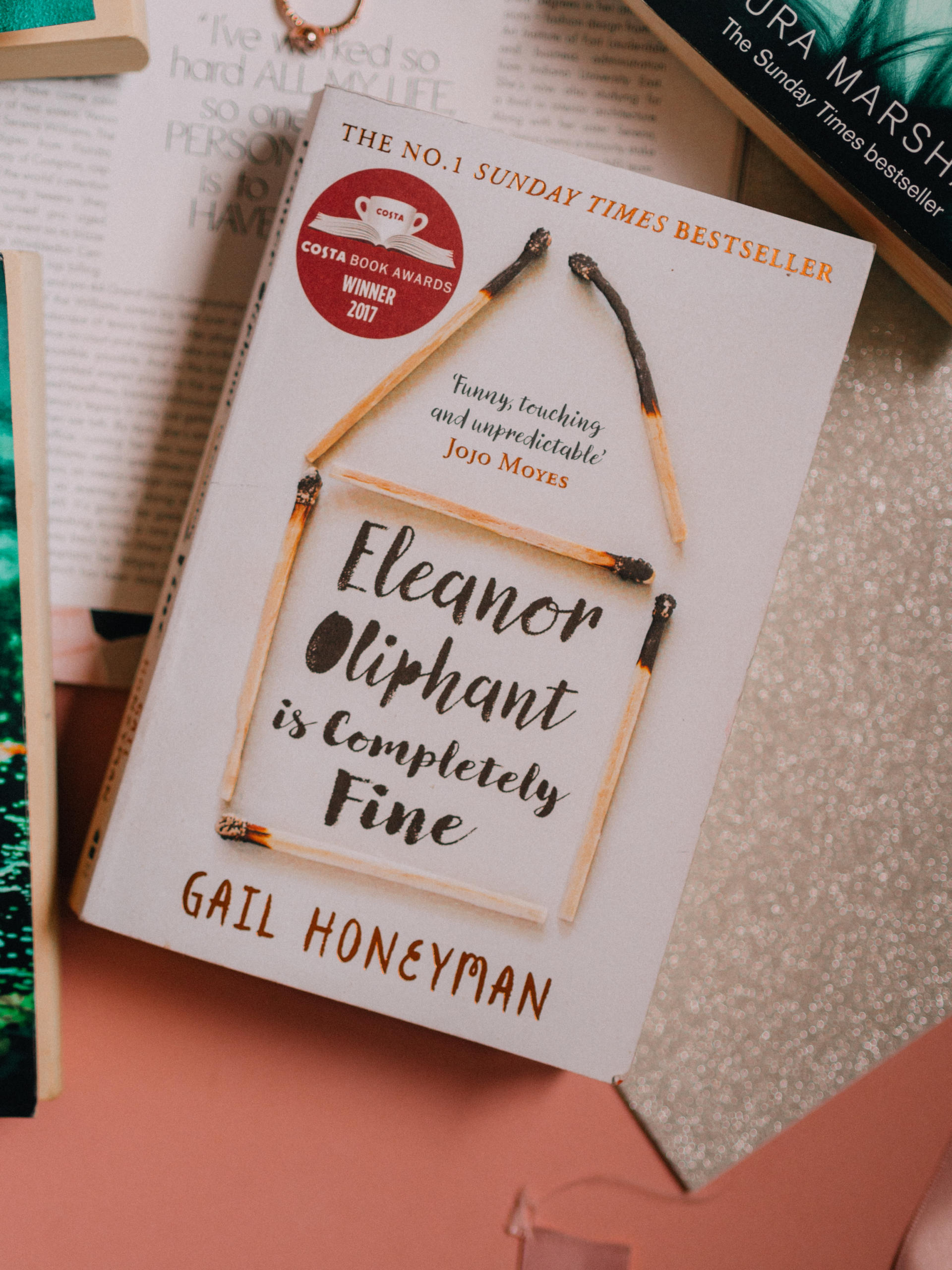What I've Been Reading Lately Eleanor Oliphant is Completely Fine