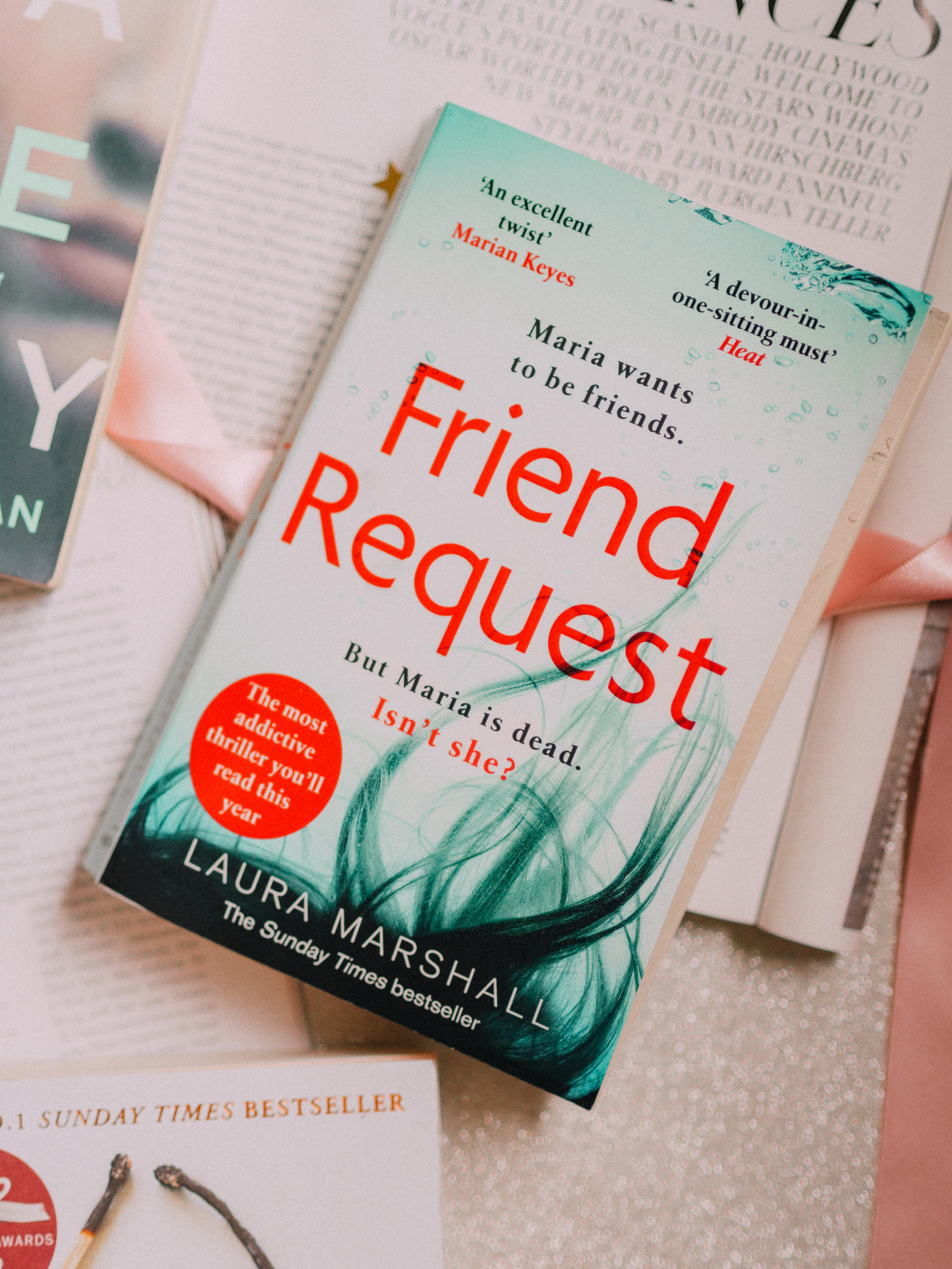 What I've Been Reading Lately Friend Request Laura Marshall